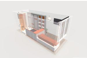 №12464928, продается квартира, 1 комната, площадь 11 м², ул.Бестужева, г.Харьков, Харьковская область, Украина