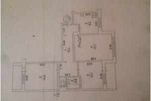 №12767647, продается квартира, 3 комнаты, площадь 70 м², пр-ктМаяковского Владимира, 81, г.Киев, Киевская область, Украина