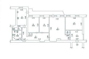 №12777838, сдается многокомнатная квартира, 4 комнаты, площадь 185 м², ул.Владимира Антоновича, 14, г.Киев, Киевская область, Украина