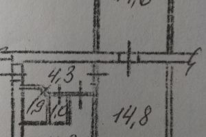 №13047831, продается двухкомнатная квартира, 2 комнаты, площадь 45 м², ул.Белгородская, 6, г.Киев, Киевская область, Украина