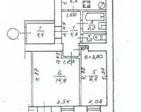 №13057298, продается двухкомнатная квартира, 2 комнаты, площадь 45 м², пер.1-й водопроводный, 7, г.Одесса, Одесская область, Украина