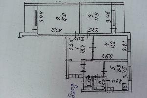 №13061520, продается квартира, 3 комнаты, площадь 72.7 м², ул.Бориспольская, 28А, г.Киев, Киевская область, Украина