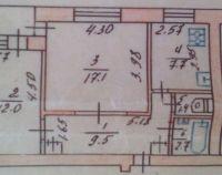 №13128337, продается двухкомнатная квартира, 2 комнаты, площадь 51.6 м², ул.Набережная, г.Вышгород, Киевская область, Украина