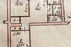 №13254861, продается квартира, 3 комнаты, площадь 63 м², ул.Лермонтова, 23, г.Запорожье, Запорожская область, Украина