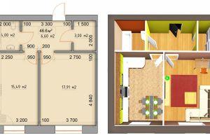 №13276824, продается квартира, площадь 46.6 м², ул.Оксамитова, 2, с.Софиевская Борщаговка, Киевская область, Украина