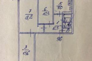 №13435183, продается трехкомнатная квартира, 3 комнаты, площадь 62 м², бул.Кольцова, 3, г.Киев, Киевская область, Украина