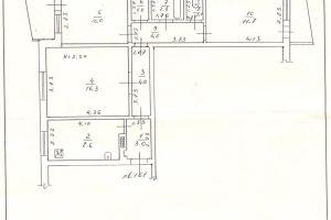 №13442533, продается квартира, 3 комнаты, площадь 66.4 м², пер.Светлый, 14, г.Одесса, Одесская область, Украина