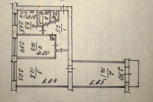 №13525057, продается квартира, 3 комнаты, площадь 60.15 м², ул.Европейская, 20, г.Запорожье, Запорожская область, Украина