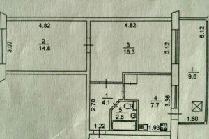 №13567382, продается квартира, 2 комнаты, площадь 55.1 м², бул.Верховного Совета, 26Б, г.Киев, Киевская область, Украина