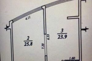 №13719242, продается квартира, 1 комната, площадь 64 м², пер.Аркадийский, 9/1, г.Одесса, Одесская область, Украина