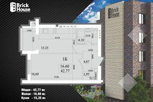 №13752224, продается квартира, 1 комната, площадь 42 м², Счасливая, 19/6, с.Софиевская Борщаговка, Киевская область, Украина